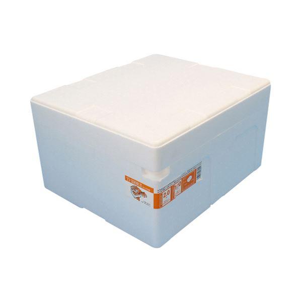 (まとめ)石山 発泡容器 なんでも箱 28.2L ホワイト TI-330RII 1個【×5セット】