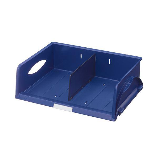 (まとめ) ライツ ソートトレー A4ヨコ ブルー5230-00-35 1個 【×5セット】