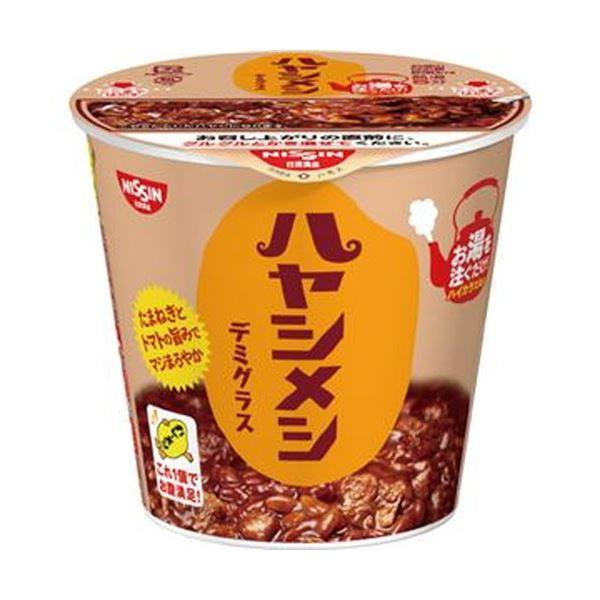 (まとめ)日清食品 日清ハヤシメシ デミグラス103g 1ケース(6食)【×10セット】