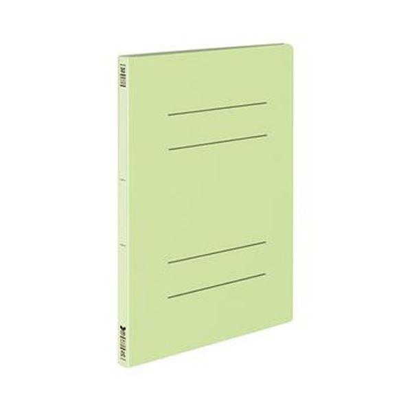 (まとめ)コクヨ フラットファイル(オール紙)A4タテ 100枚収容 背幅18mm 緑 フ-RK10NG 1セット(10冊)【×10セット】