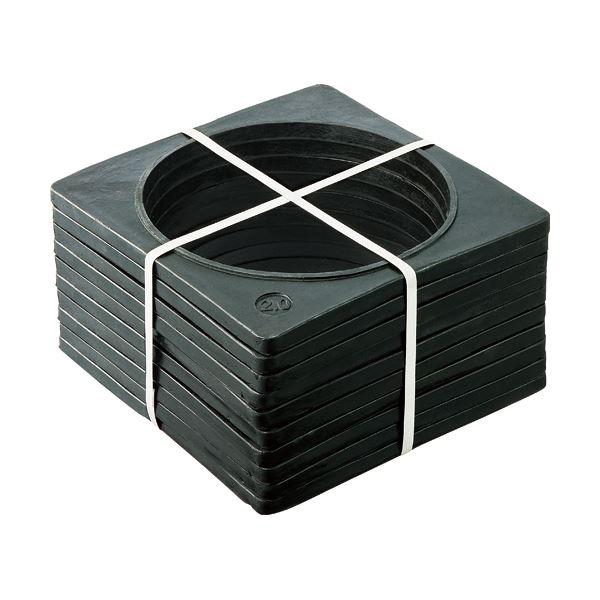 (まとめ)安全興業 コーンベット 360×360mm 2kg コ-ンベツト10 1セット(10個)【×3セット】