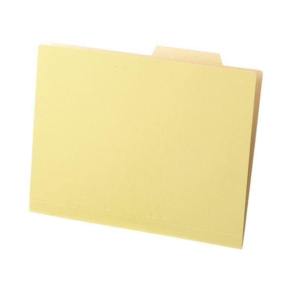 (まとめ) TANOSEE 個別フォルダー(クラフト厚紙タイプ) A4 1パック(50冊) 【×10セット】