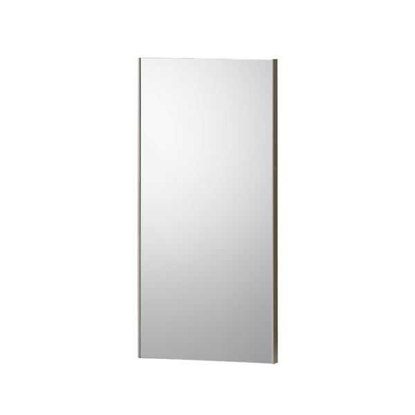 割れない鏡 【REFEX】リフェクス 姿見 マグネットタイプ 30×60cm 飾縁(両サイドのみ)オーク色【日本製】