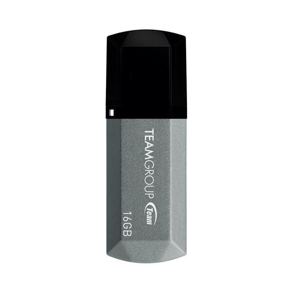 (まとめ)TEAM USB2.0キャップ式USB 16GB TC15316GS01【×30セット】