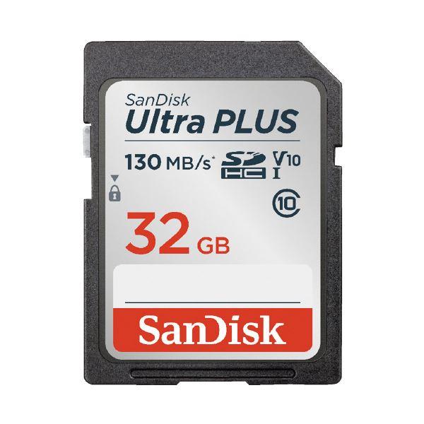 (まとめ)サンディスク SDHCカード 32GB SDSDUW3-032G-JNJIN(×5セット)