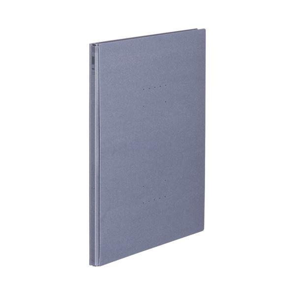 【スーパーセールでポイント最大44倍】(まとめ)コクヨ ガバットファイル(NEOS)A4タテ 1000枚収容 背幅14~114mm ブルーグレー フ-NE90DM 1冊 【×20セット】