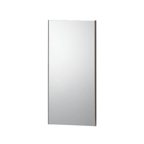 割れない鏡 【REFEX】リフェクス 姿見 マグネットタイプ 45×120cm 飾縁(両サイドのみ)オーク色【日本製】