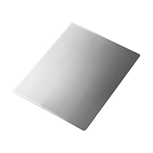 (まとめ) エレコム メタリックマウスパッドXLサイズ ブラック MP-MBGBK 1枚 【×10セット】