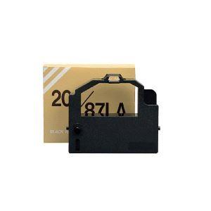 (まとめ) インクリボン PR201/87LA-01 汎用品 黒 1本 【×5セット】