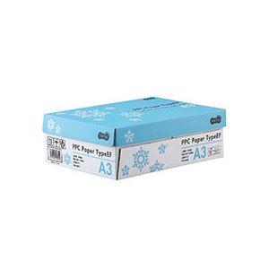 (まとめ)TANOSEE PPC PaperType EF A3 1箱(1500枚:500枚×3冊) 【×3セット】