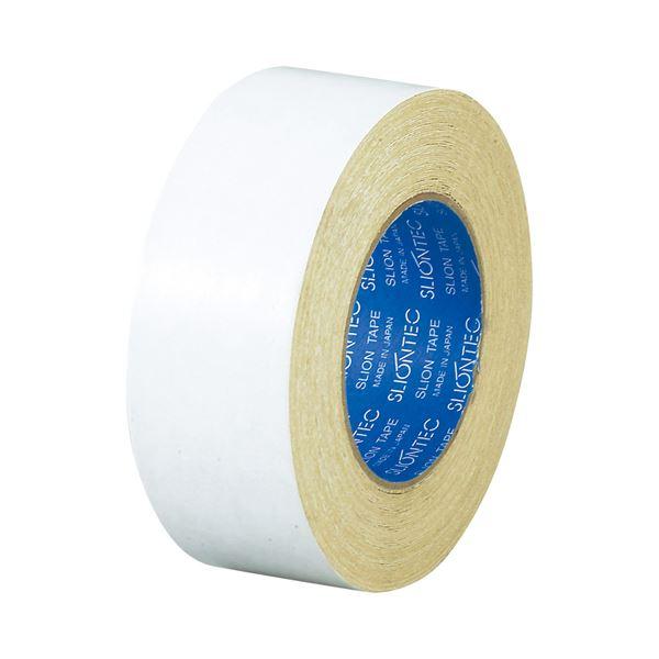 【スーパーセールでポイント最大44倍】(まとめ) スリオンテック 多目的布両面テープ No.5320 50mm×15m No.5320-50 1巻 【×10セット】