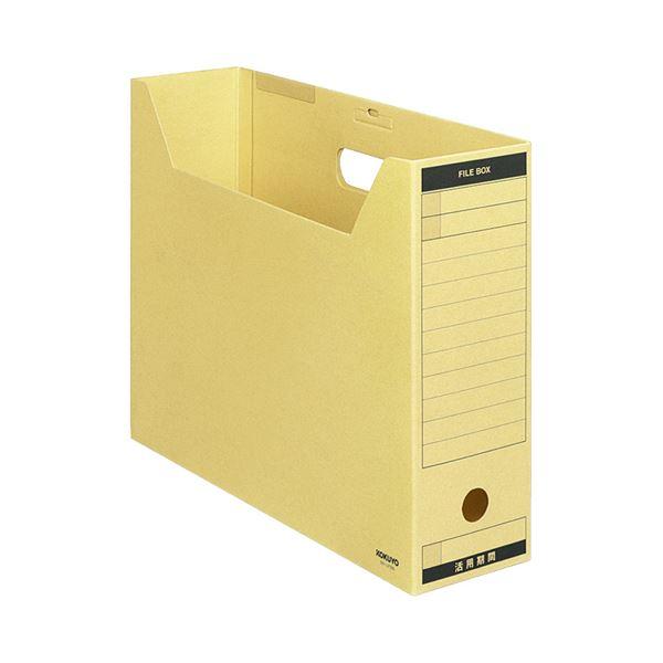 (まとめ) コクヨ ファイルボックス-FS(Aタイプ) B4ヨコ 背幅102mm B4-LFBN 1セット(5冊) 【×5セット】