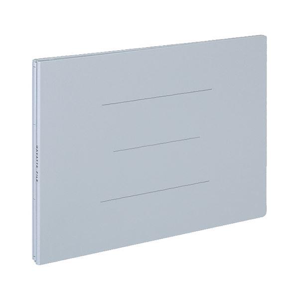 (まとめ) コクヨ ガバットファイル(紙製) A4ヨコ 1000枚収容 背幅13~113mm 青 フ-95B 1セット(10冊) 【×5セット】