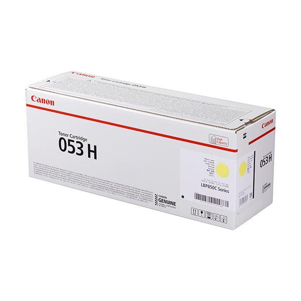 キヤノン トナーカートリッジ 053HCRG-053HYEL イエロー 大容量 2191C001 1個
