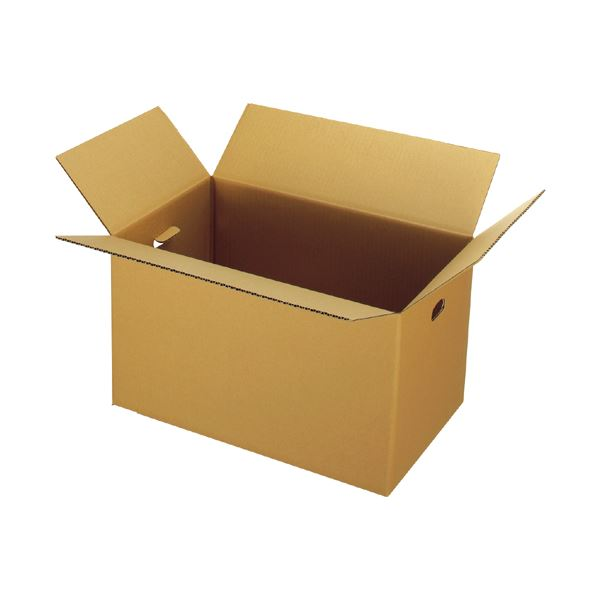 (まとめ) ジョインテックス 穴付ダンボール箱 大大10枚 B177J-LL【×5セット】