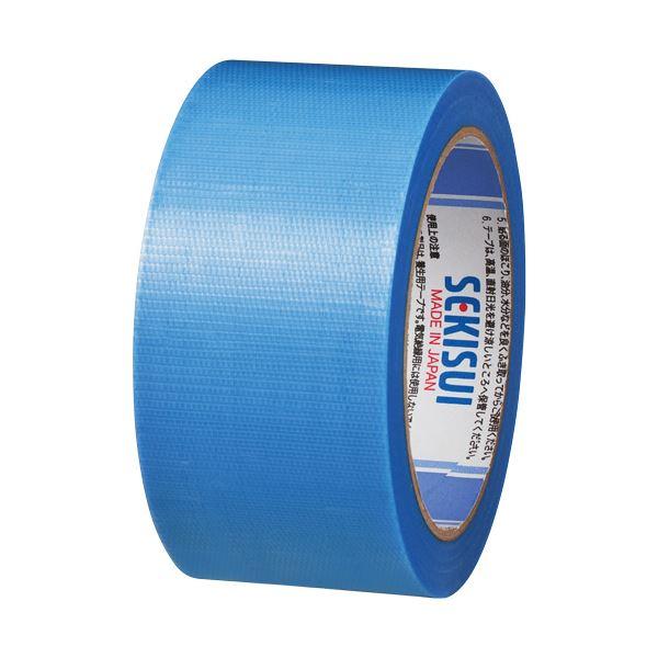 (まとめ) 積水化学 マスクライトテープ No.730 50mm×25m 青 建築養生・床養生用 N730A04 1巻 【×30セット】