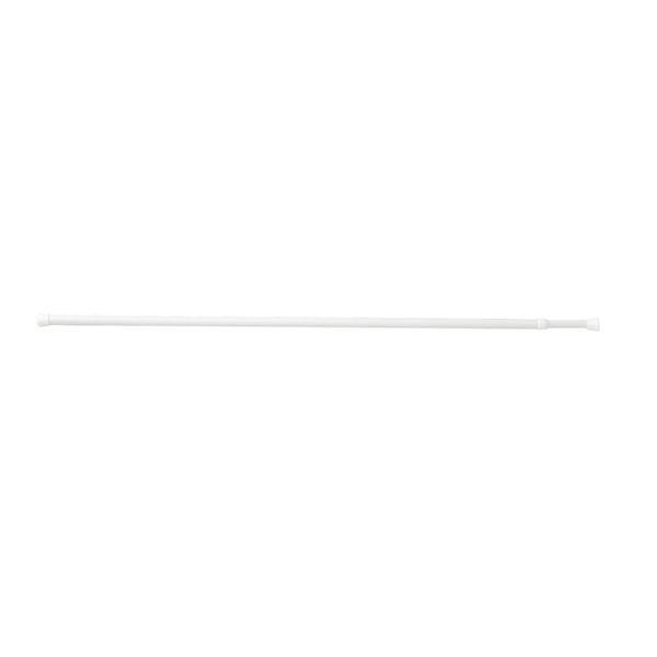 (まとめ) つっぱり棒/ポールハンガー 【L 長さ60~100cm】 ネジ・クギ不要 伸縮 リビングポールミニ 【×24個セット】