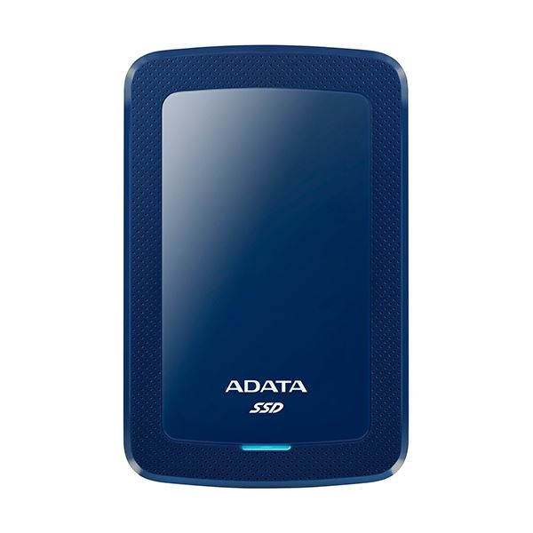A-DATA USB3.1対応ポータブルSSD 480GB ブルー ASV300-480GC31-CBL 1台