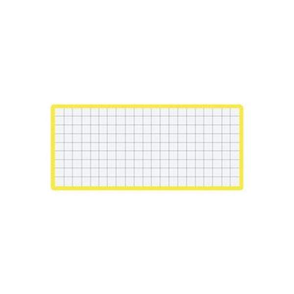 (まとめ)コクヨ マグネット見出し43×104mm 黄 マク-412Y 1セット(10個)【×5セット】
