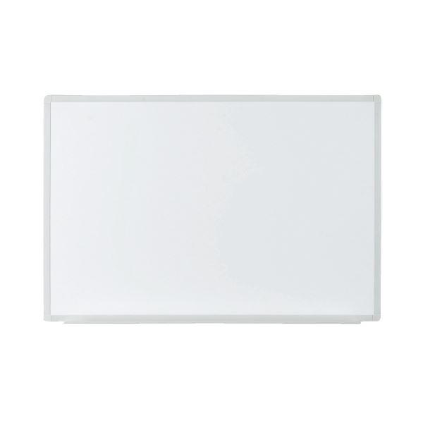 プラス 壁掛ホワイトボード 無地 幅880mm VSK2-0906SS