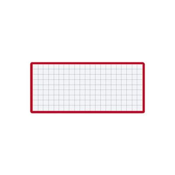 (まとめ)コクヨ マグネット見出し43×104mm 赤 マク-412R 1セット(10個)【×5セット】