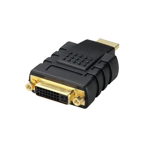 (まとめ) エレコム DVI HDMI変換アダプタ(DVI-D24pin)メス-HDMIオス AD-DTH 1個 【×5セット】