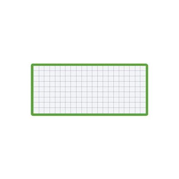 (まとめ)コクヨ マグネット見出し43×104mm 緑 マク-412G 1セット(10個)【×5セット】