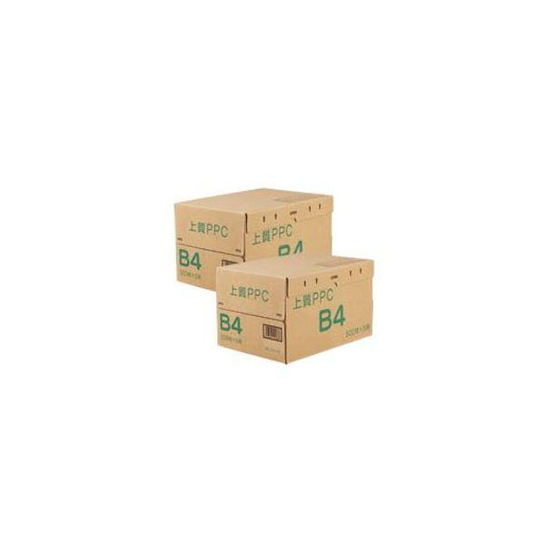 (まとめ)上質PPC用紙 NY B4 1セット(5000枚:2500枚×2箱)【×3セット】