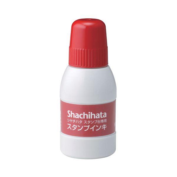 (まとめ) シヤチハタ スタンプ台専用補充インキ40ml 赤 SGN-40-R 1個 【×30セット】