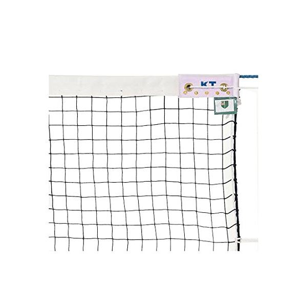 KTネット 無結節ソフトテニスネット 日本製 【サイズ:12.65×1.06m】 KT6214