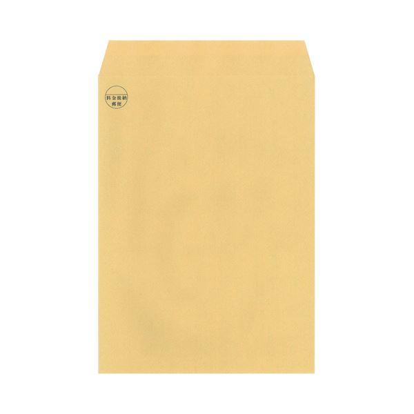 【スーパーセールでポイント最大44倍】(まとめ)今村紙工 料金後納マーク付 クラフト封筒裏地紋付 角2 テープ付 RKK2-T100 1パック(100枚)【×5セット】