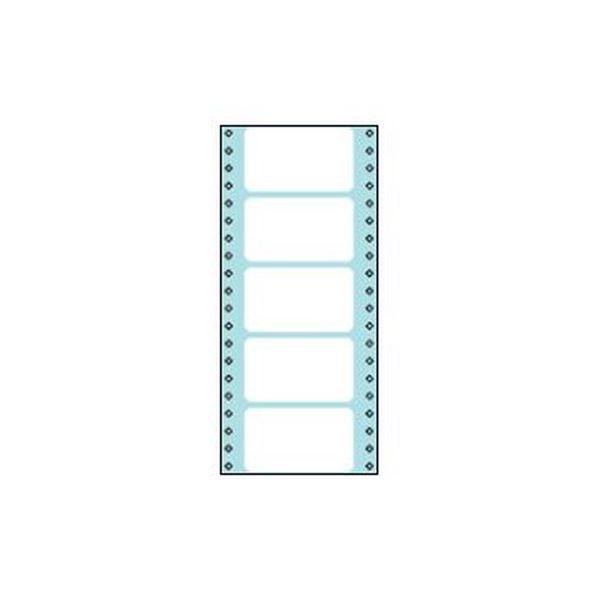 (まとめ)コクヨ 連続伝票用紙(タックフォーム)横4_5/10×縦10インチ(114.3×254.0mm)5片 ECL-126 1パック(100シート)【×5セット】