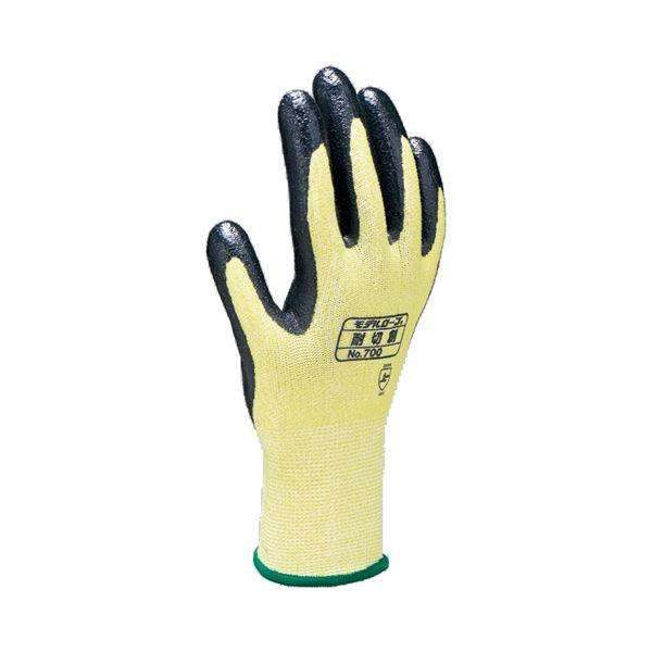 【スーパーセールでポイント最大43倍】(まとめ)エステー モデルローブNo.700 耐切創手袋 Lサイズ【×30セット】