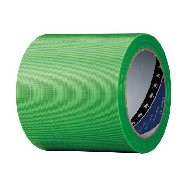 セール商品 梱包作業用品 テープ製品 養生テープ マスキングテープ クーポン配布中 まとめ 寺岡製作所 養生用P-カットテープ 1巻 即日出荷 No.4140ワカバ100 ×10セット 若葉 100mm×25m