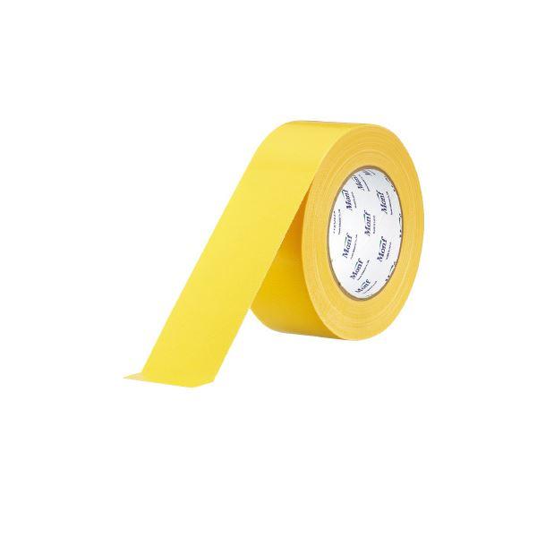 【··で··最大44倍】(まとめ)古藤工業 工事用布粘着テープNo.8002 黄 50mm×25m【×30セット】