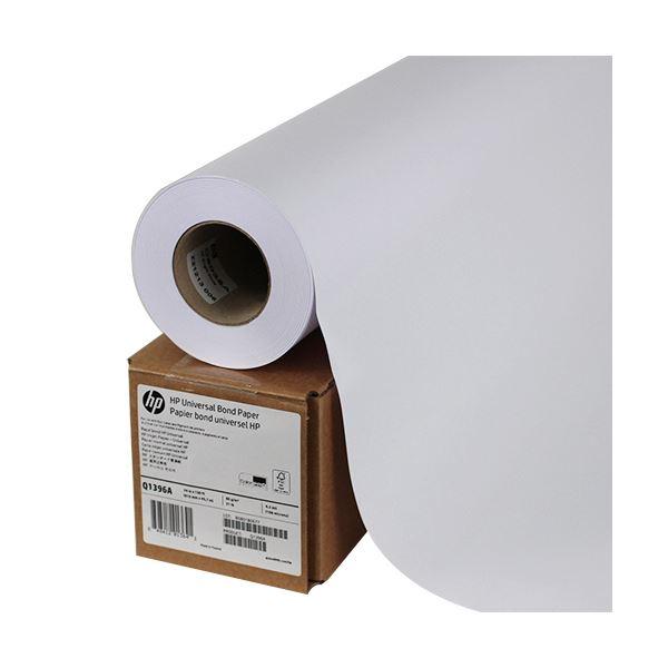 (まとめ) HP スタンダード普通紙24インチロール 610mm×45m Q1396A 1本 【×5セット】