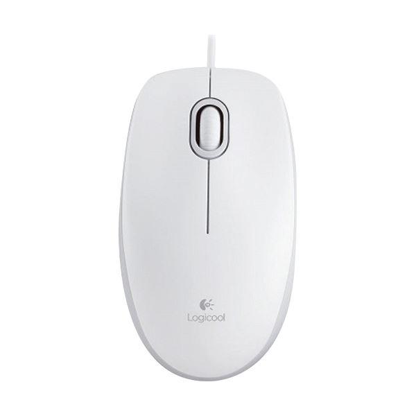 (まとめ) ロジクール マウス M100r ホワイトM100rWH 1個 【×10セット】