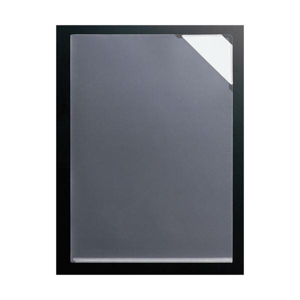 (まとめ) コクヨ クリヤーホルダー(K2)脱落防止ストッパー付き A4 透明 K2フ-ST750TX10 1パック(10枚) 【×30セット】