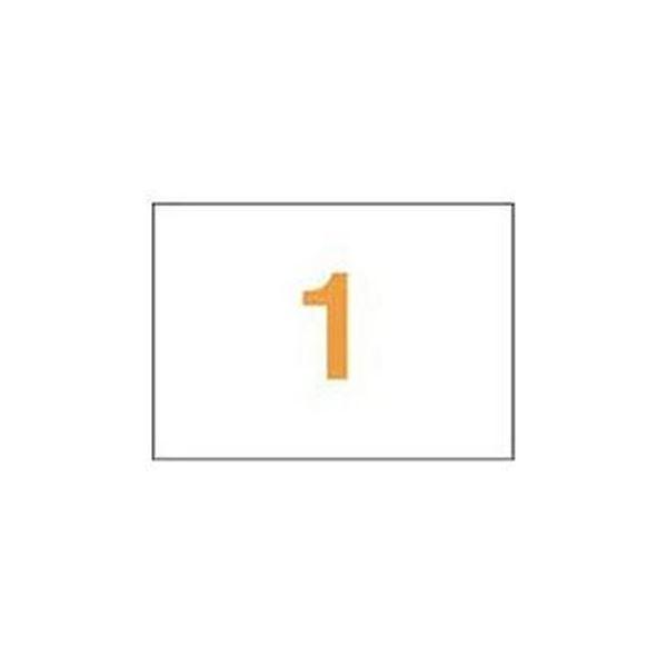 (まとめ)ライオン事務器 PPCタックラベルA4判 297×210mm(ノーカット)PPC-01 1箱(100シート)【×3セット】