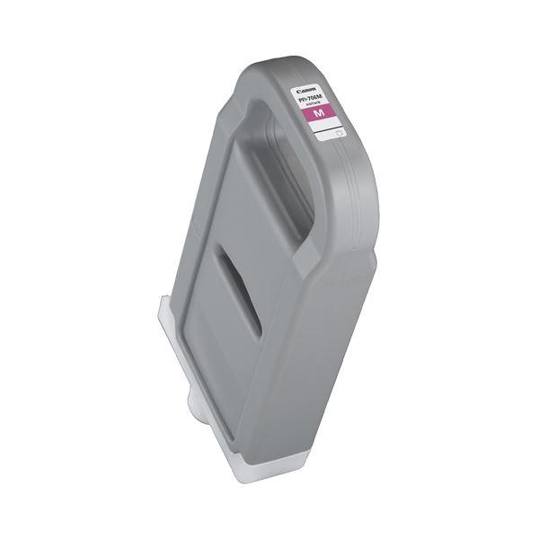 (まとめ) キヤノン Canon インクタンク PFI-706 顔料マゼンタ 700ml 6683B001 1個 【×3セット】