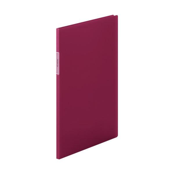 【スーパーセールでポイント最大44倍】(まとめ)キングジム FAVORITESクリアーファイル(透明) A4タテ 10ポケット 背幅10mm 赤 FV166THアカ 1冊 【×20セット】