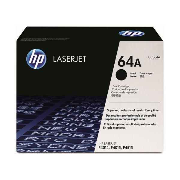 HP プリントカートリッジ 黒CC364A 1個