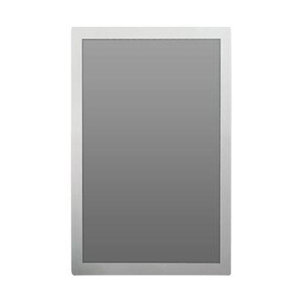 (まとめ)土屋工業 ポスターフィット 枠色シルバー背面マグネットシート付 A3サイズ 外寸343×466mm POFIT-A3-MG 1枚【×5セット】