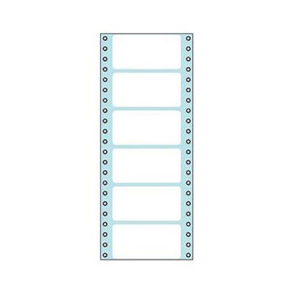 (まとめ)コクヨ 連続伝票用紙(タックフォーム)横4_5/10×縦11インチ(114.3×279.4mm)6片 ECL-146 1パック(100シート)【×5セット】