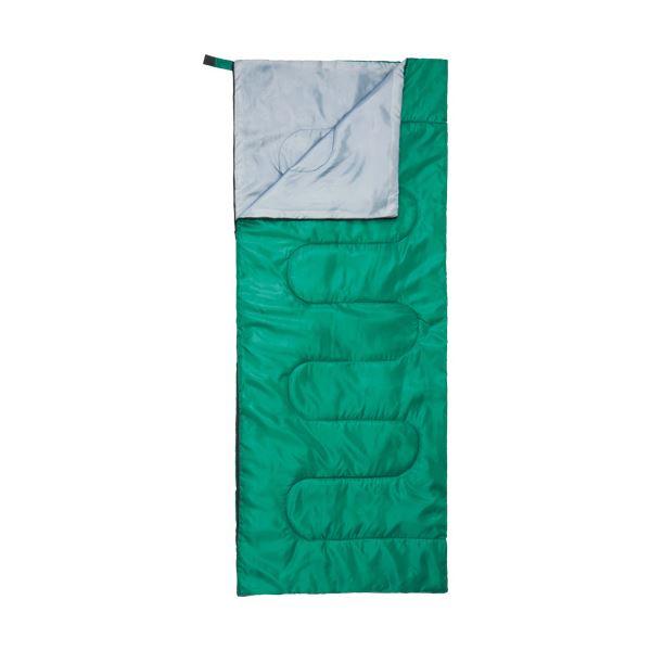 (まとめ)ハピラ 封筒型寝袋 グリーンNBKR900 1個【×5セット】