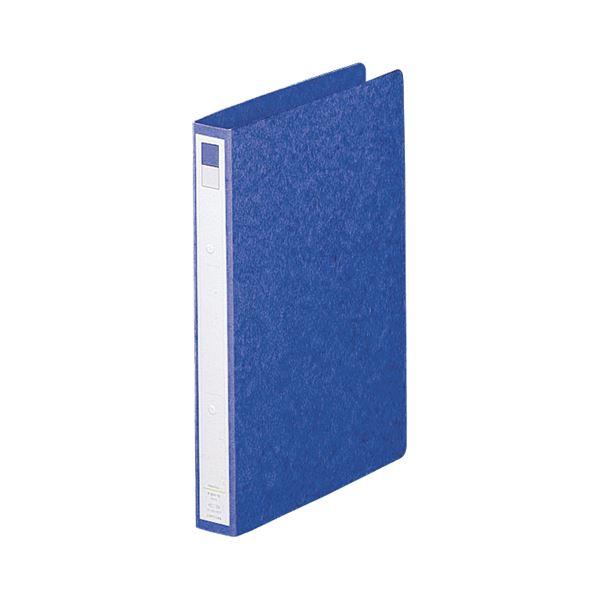 【スーパーセールでポイント最大44倍】(まとめ)リヒトラブ リングファイル A4タテ2穴 200枚収容 背幅35mm 藍 F-803-5 1冊 【×20セット】