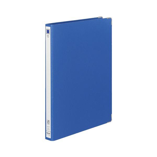 【スーパーセールでポイント最大44倍】コクヨ リングファイル 色厚板紙A4タテ 30穴 背幅30mm 青 フ-470B 1セット(20冊)