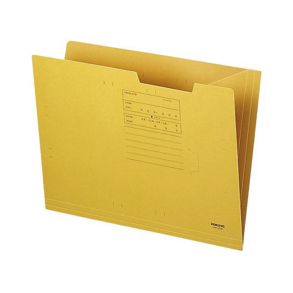 (まとめ)コクヨ オープンフォルダー A4A4-LFN 1セット(50冊)【×3セット】