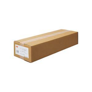 (まとめ) TANOSEEインクジェットプロッタ用普通紙 A1ロール 594mm×50m 1箱(2本) 【×5セット】