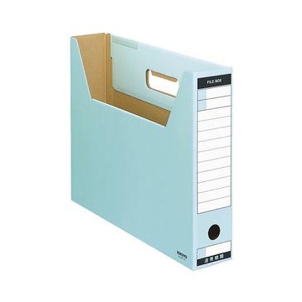 (まとめ)コクヨ ファイルボックス-FS(Tタイプ)B4ヨコ 背幅75mm 青 B4-SFT-B 1セット(10冊)【×3セット】